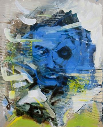 BARTOSZ BEDA   Illuminati - an American Dream II, oil on canvas 51cm x 41cm 2014